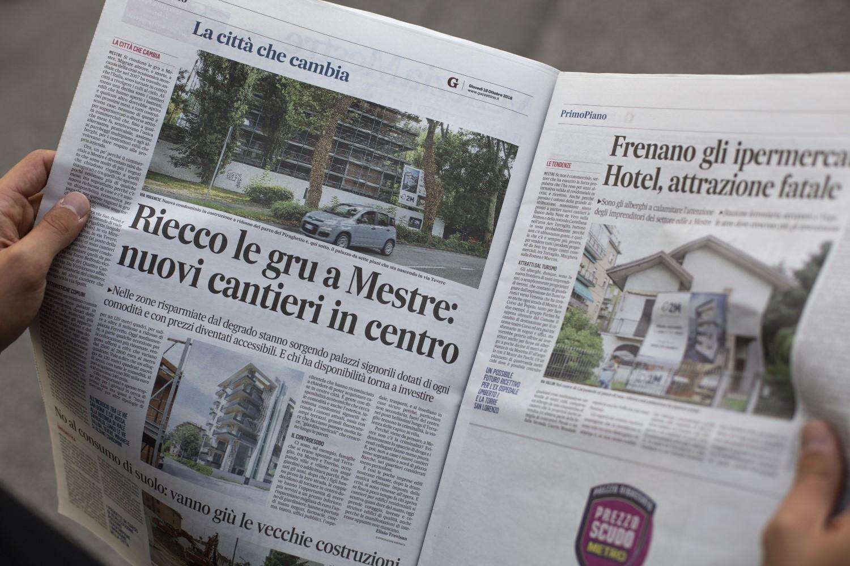 Riecco le gru a Mestre: nuovi cantieri in centro